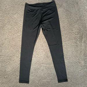 American Apparel nylon tricot leggings